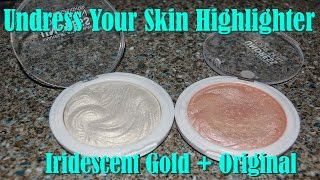 MUA Highlighter - Iridescent Gold / Original (Review+Swatches) Thumbnail