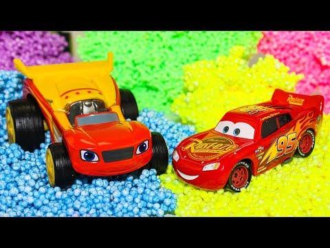 Игрушки #Тачки Молния #Маквин Видео для детей #проМашинки Вспыш и чудо машинки