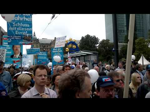 AfD Demo Frankfurt a.M.