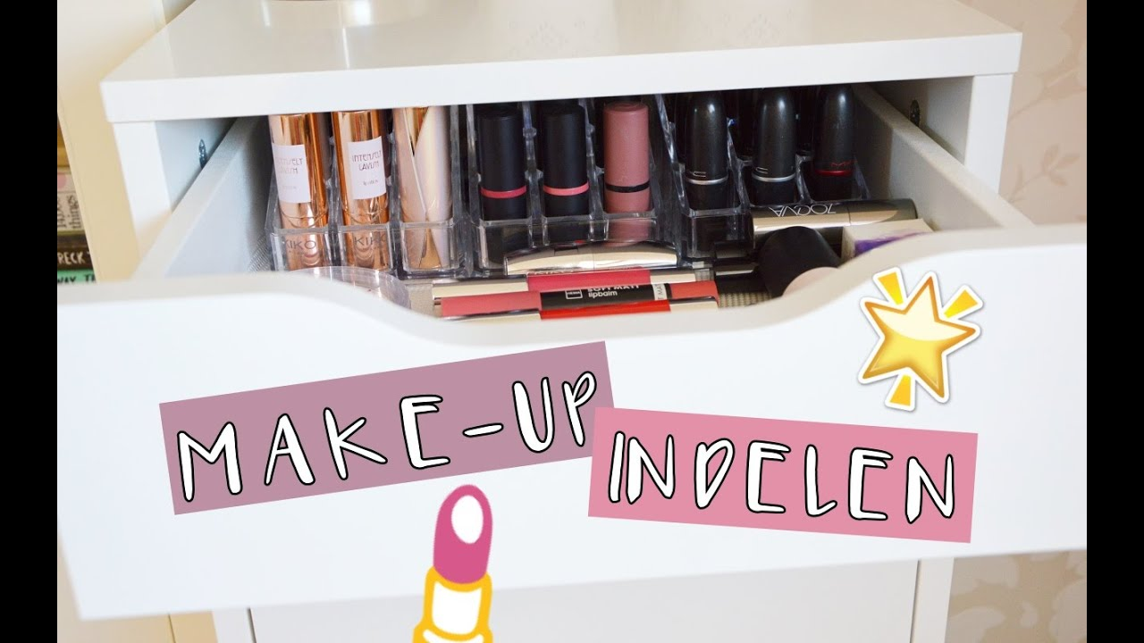 Make Up Indelen In Alex Ladekast Ikea Life Of Joyce