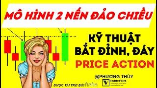 Mô Hình Hai Nến Đảo Chiều - Kỹ Thuật Bắt Đỉnh Đáy Trong Price Action