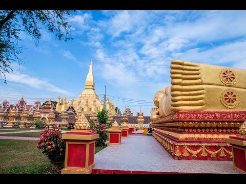 Exploring Vientiane, Laos