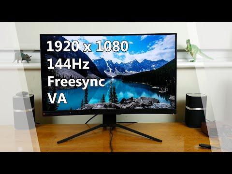 MSI Optix MAG271CR review - 1080p 144Hz VA gaming monitor - YouTube