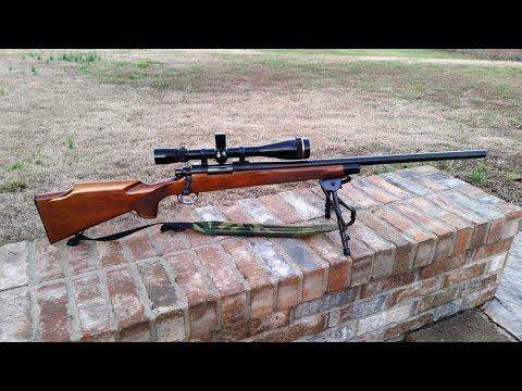 250 Yard Jug Bustin' With My .22-250 Remington 700 BDL 1/24/17