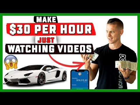 How To Make $30 Per Hour Just BY WATCHING VIDEOS Online EASY 2019