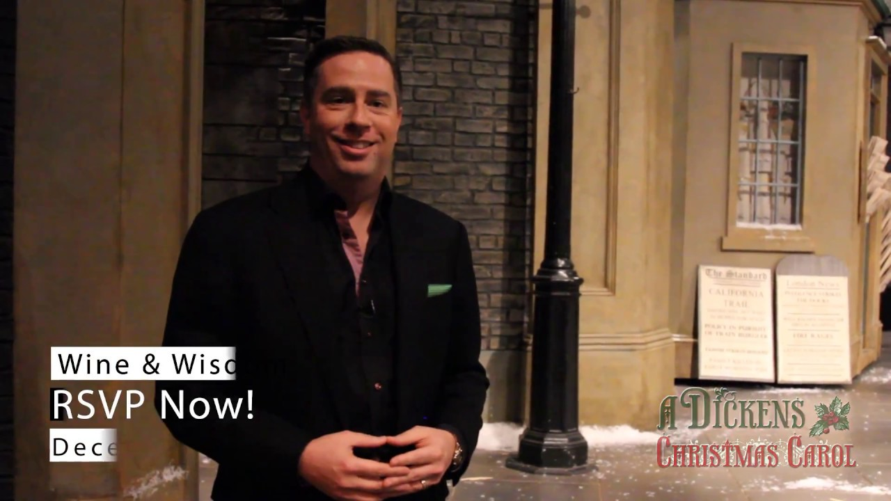 Upcoming Wine & Wisdom Event A Christmas Carol from the Actors Theatre of Louisville - YouTube