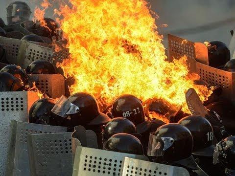 Ukraine explodes in violence