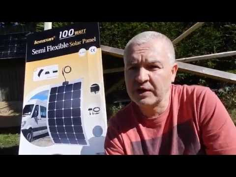 Review & Test: Lensun 100W Semi-Flexible Solar Panel