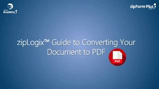 Converting a Document to PDF