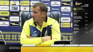 Андрей Шевченко: Я был против матча с Аргентиной