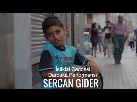 Sercan Gider - Darbuka Performance On İstiklal