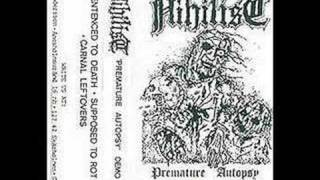 Nihilist - Sentenced To Death (Rare Demo
