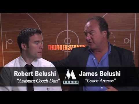 THUNDERSTRUCK - James & Robert Belushi interview