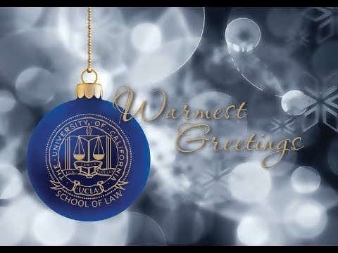 2017 UCLA Law Holiday Video
