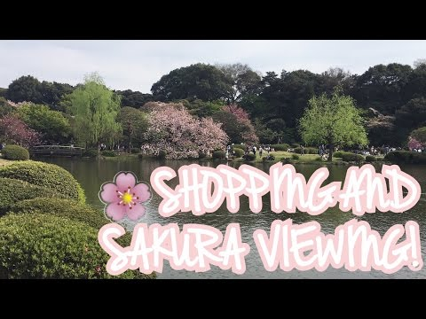 ♡ TOKYO'S BEST PARK?! + SHOPPING IN SHINJUKU ♡ | Japan Day 6