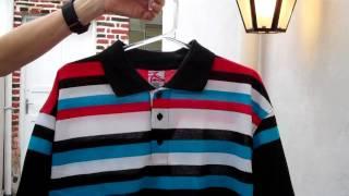 Blue Seven Souls polo shirt