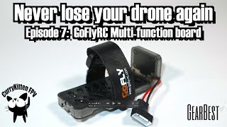 Never lose your drone again: Episode 7 - GoFlyRC beeper, supplied by Gearbest