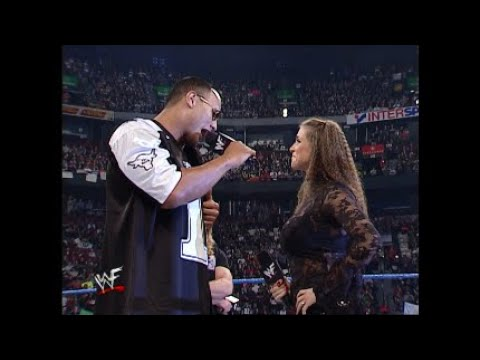 Download The Rock & Chris Jericho Make Stephanie McMahon Cry - 10/18/01 - Part 1