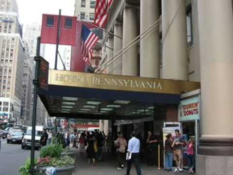 hotel pennsylvania new york youtube. Black Bedroom Furniture Sets. Home Design Ideas
