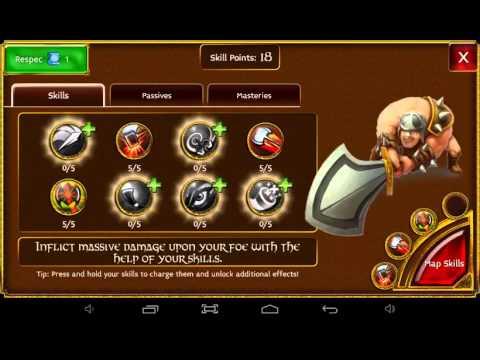 Arcane Legends Warrior Build