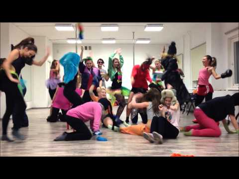 Harlem Shake dance group ESTONIA