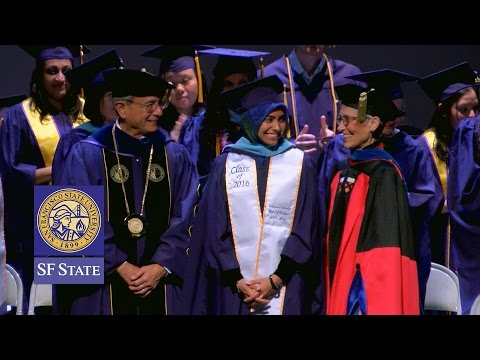 San Francisco State Graduate Recognition Ceremony 2016