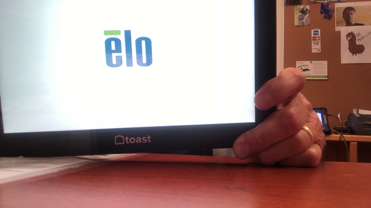 Elo Touch Tablet Hard Reset Attempt