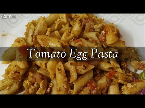 Tomato Egg Pasta || Egg Pasta Recipe || Quick Dinner Recipes || Kid's Recipes