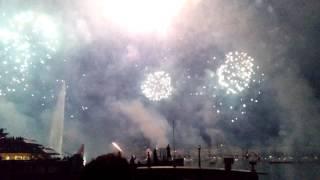 Fêtes de Genève 2015 - Feu d'artifice