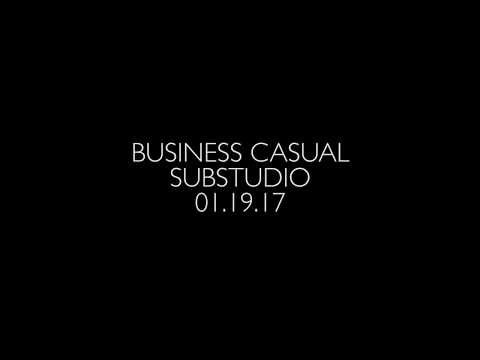Business Casual Lecture Series - SUBSTUDIO