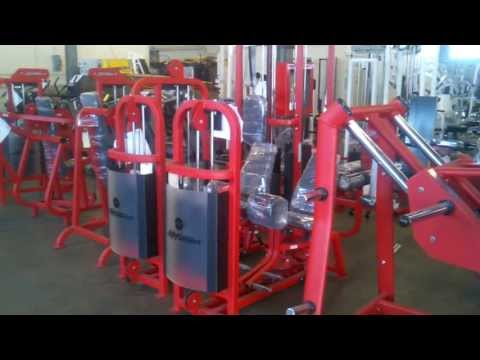 Gym Package Staged For Delivery - Used Gym Equipment