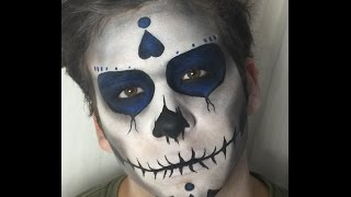 Maquillage Halloween Crâne Mexicain / Mexican Skull