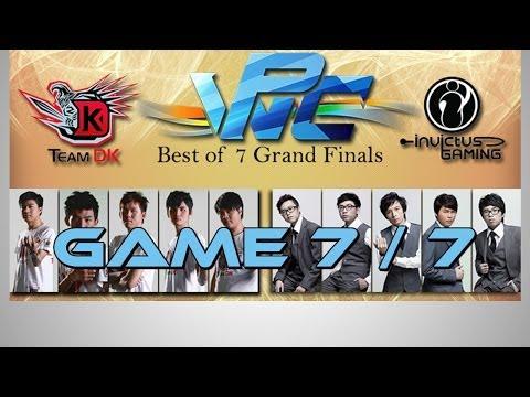 Dota 2 - DK vs. iG WPC-ACE Game 7/7 - Highlights Grand Final