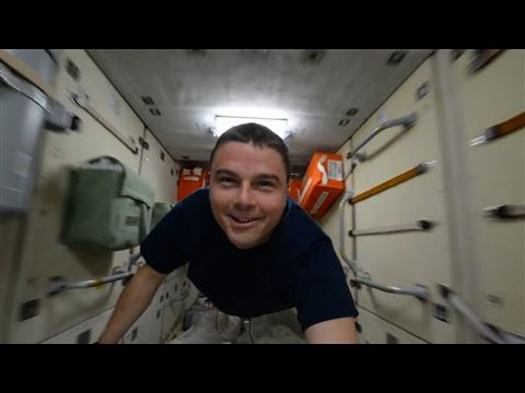 A Fly-Through of the International Space Station