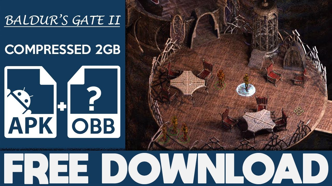 How To Download Baldur's Gate II Apk OBB For Android 2018  #Smartphone #Android