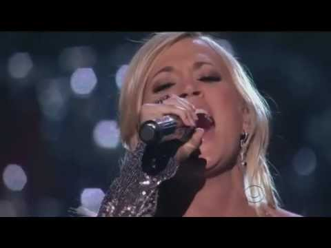 Carrie Underwood with Vince Gill ~ How Great thou Art Live