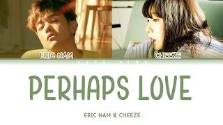 Eric Nam, CHEEZE (에릭남, 치즈) - PERHAPS LOVE (사랑인가요) (Prod.By 박근태) LYRICS (Color Coded/Han/Rom/Eng/가사)