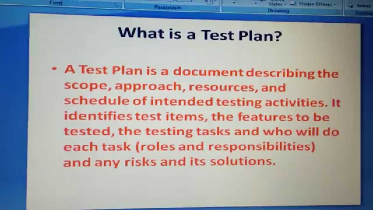 what is test plan software testing interview questions and what is test plan software testing interview questions and answers