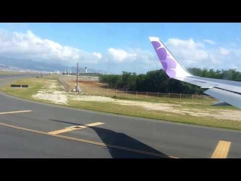 Tchockozzo no Hawaii 2013 - Parte 52 e ultima (Decolagem com vista animal do Hawaii)