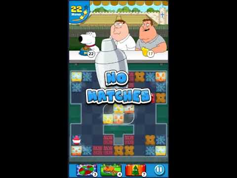 Family Guy Another Freakin Mobile Game Level 614 - NO BOOSTERS