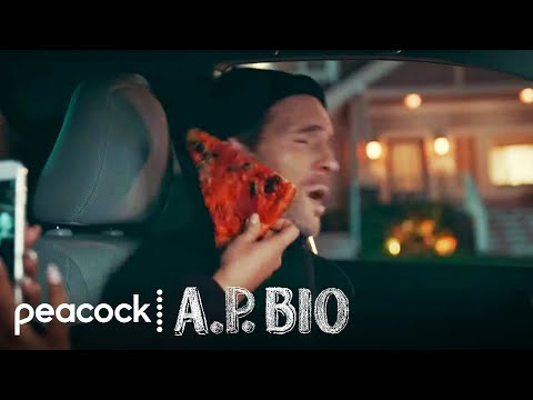 Pizza Slaps On A Stakeout - A.P. Bio (Episode Highlight)