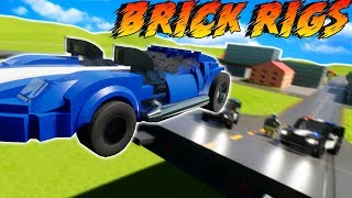 LEGO COPS AND ROBBERS! - Brick Rigs Gameplay & Roleplay - Lego City Police Chases!