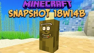 One of xisumavoid's most viewed videos: Minecraft 1.13 Snapshot 18w14b Sea Pickle & Renamed Corals!