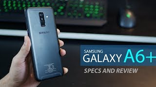 Samsung Galaxy A6 plus - review and specifications (2018)