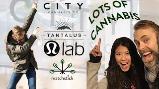 vapour trails ep #1 | LOTS OF CANNABIS ft. LULULEMON & TANTALUS LABS