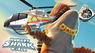 BIGGEST AND STRONGEST SHARK ATTACKS! MLG! NO WAY!?... WAY! - Hungry Shark World | Ep 28