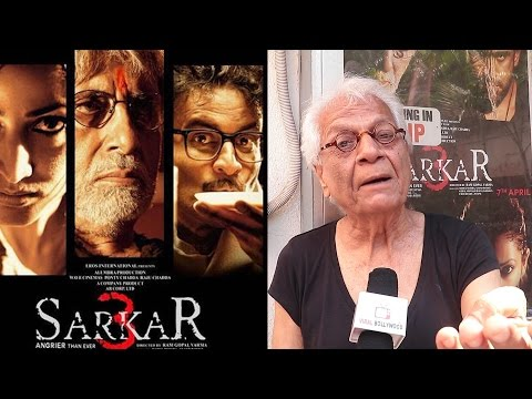 Lalu Makhija Review  On Sarkar 3 | Sarkar 3 Movie Review