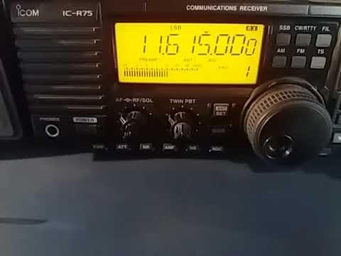 11615 kHz: Radio Afia Darfur, via Selebi-Phikwe BOTSWANA