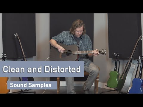 KLOS Full Size Color Guitar Sound Sample - Clean and Distorted