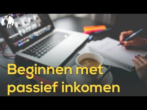 Beginnen met passief inkomen | eenPassiefInkomen.nl